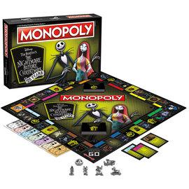 Usaopoly Jeu de société - Disney - Monopoly The Nightmare Before Christmas