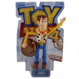 Mattel Figurine - Disney Pixar - Toy Story 4: Woody Articulated 7''