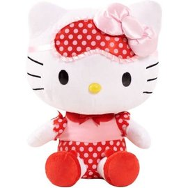 Just Play Peluche - Hello Kitty - Hello Kitty avec Masque Jumbo 13""