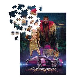 Dark Horse Puzzle - CD Projekt Red - Cyberpunk 2077 Neokitsch 1000 pieces