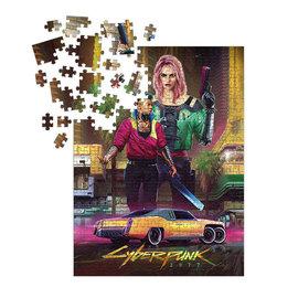 Dark Horse Puzzle - CD Projekt Red - Cyberpunk 2077 Kitsch 1000 pieces