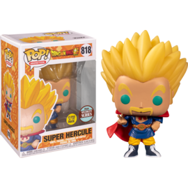 Funko Funko Pop! - Dragon Ball Z - Super Hercule 818 *GITD Specialty Series*