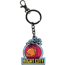 Dark Horse Keychain - CD Projekt Red - Cyberpunk 2077 Night City