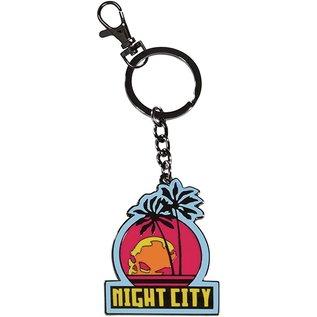 Dark Horse Keychain - CD Projekt Red - Cyberpunk 2077 Night City