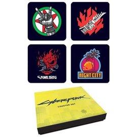 Dark Horse Coasters - CD Projekt Red - Cyberpunk 2077 Set of 4