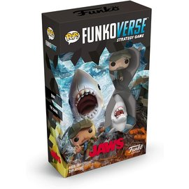 Funko Board Game - JAWS - Funkoverse Strategy Game for 2 Players