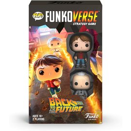 Funko Board Game - Back To The Future - Funkoverse Strategy Game for 2 Players
