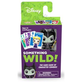 Funko Funko Pop! Something Wild! - Disney Villains - Le Jeu de Cartes des Combos de Personnages