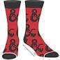 Bioworld Chaussettes - Dungeons & Dragons - Rouge avec Logo Noir 1 Paire Crew