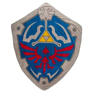 Bioworld Blanket - The Legend of Zelda - Hylian Shield Plush Throw