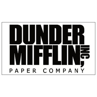 Chez Rhox Aimant - The Office - Dunder Mifflin Inc Paper Company