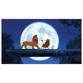 Chez Rhox Aimant - Disney - The Lion King: Simba, Timon and Pumbaa Under the Moonlight