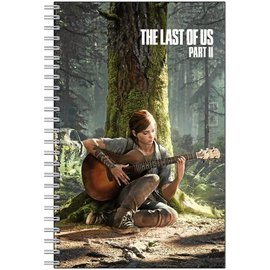 Chez Rhox Notebook - The Last of Us 2 - Ellie Playing Guitar in the Forest