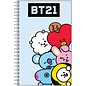 Chez Rhox Carnet de Notes - BT21 - Personnages Line Friends