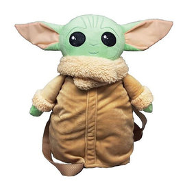 "Bioworld Sac à dos - Star Wars The Mandalorian - The Child ""Bébé Yoda"" en Peluche 3D 14"""