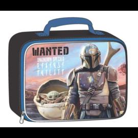 Bioworld Boîte à lunch - Star Wars The Mandalorian - The Child ''Bébé Yoda'' et Mando ''Wanted Unknown Species''