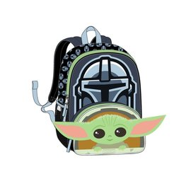 "Bioworld Backpack - Star Wars The Mandalorian - The Child ""Baby Yoda"" Chibi 3D"