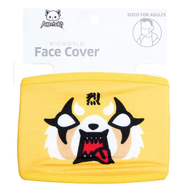 Bioworld Face Mask - Aggrestsuko - Face Cover: Aggressive Retsuko