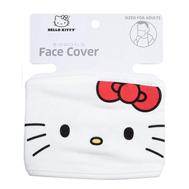 Bioworld Face Mask - Hello Kitty - Face Cover: Hello Kitty Classic
