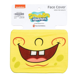 Bioworld Face Mask - SpongeBob SquarePants - Face Cover: Bob's Mouth