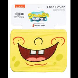 Bioworld Masque - SpongeBob SquarePants - Couvre-Visage: Visage de Bob l'Éponge