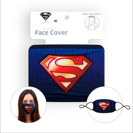 Bioworld Face Mask - DC Comics - Face Cover: Superman Logo
