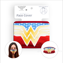 Bioworld Face Mask - DC Comics - Face Cover: Wonder Woman Logo