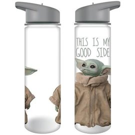 "Vandor Tavel Bottle - Star Wars The Mandalorian - The Child ""Baby Yoda"" This Is My Good Side 24oz"