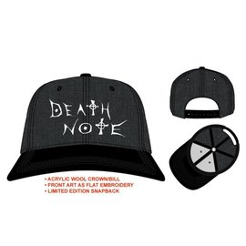 Bioworld Casquette - Death Note - Logo Grise
