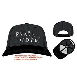 Bioworld Casquette - Death Note - Grise Avec Logo