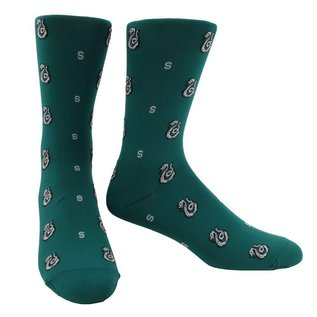 Bioworld Chaussettes - Harry Potter - Serpentard: Logo Vert Chic 1 Paire Crew