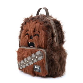 Loungefly Mini Backpack - Star Wars - Empire Strikes Back: Chewbacca Faux-Fur