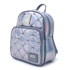 Loungefly Mini Backpack - Star Wars - Empire Strikes Back: Hoth Rebels Iridescent 40th Anniversary