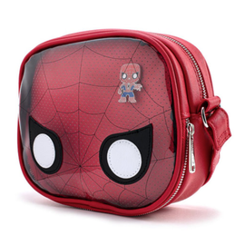 Loungefly Sacoche - Marvel - Spider-Man: Funko Pop! Transparent