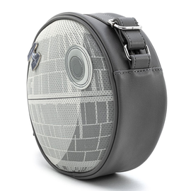 Loungefly Purse - Star Wars - Empire Strikes Back: Death Star with Tie Fighter Collector Pin