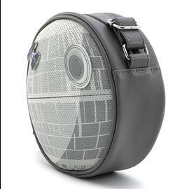 Loungefly Sacoche - Star Wars - Empire Strikes Back: Death Star ''L'Étoile de la Mort'' avec Épinglette Tie Fighter