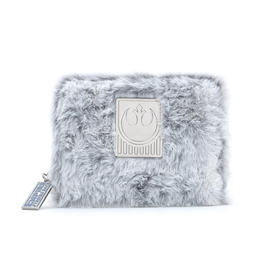 Loungefly Wallet - Star Wars - Hoth Rebels Iridescent with Faux-Fur 40th Anniversary