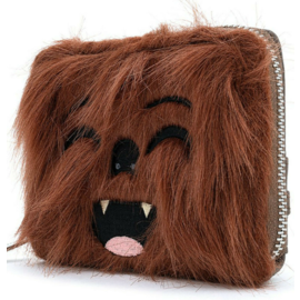 Loungefly Wallet - Star Wars - Empire Strikes Back: Chewbacca with Faux-Fur