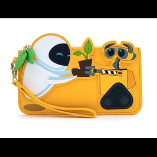 Loungefly Portefeuille - Disney Pixar - Wall-E: Wall-E et EVE avec Plante