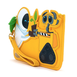 Loungefly Wallet - Disney Pixar - Wall-E: Wall-E and EVE with Plant Boot