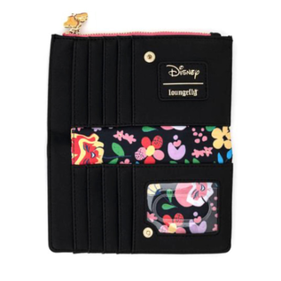 "Loungefly Portefeuille - Disney - Alice au Pays des Merveilles: Alice avec les Fleurs ""Do you suppose she is a wildflower?"""