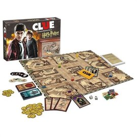 Usaopoly Board Game - Harry Potter - Clue with Moving Hogwarts Gameboard *English*