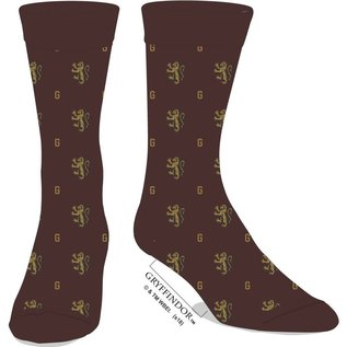Bioworld Chaussettes - Harry Potter - Gryffondor: Logo Bourgogne Chic 1 Paire Crew