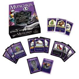 Usaopoly Jeu de société - Disney - Munchkin The Nightmare Before Christmas