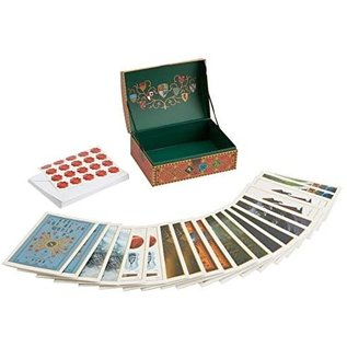 Enesco Carte de souhaits - Harry Potter - Coffret de Quidditch avec 20 Cartes et Enveloppes