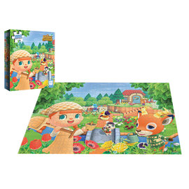 The OP Games Puzzle - Nintendo - Animal Crossing New Horizon 1000 pieces