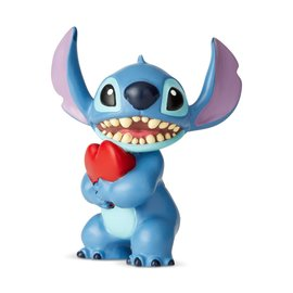 Showcase Collection Figurine - Disney - Lilo and Stitch: Stitch with Heart Vinyl 3.5''