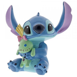 Showcase Collection Figurine - Disney - Lilo and Stitch: Stitch with Rag Doll Vinyl 3.5''