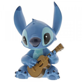 Showcase Collection Figurine - Disney - Lilo and Stitch: Stitch with Guitar Vinyl 3.5''