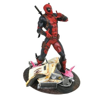 "Diamond Toys Figurine - Marvel - Deadpool Taco Truck Edition Gallery 10"""